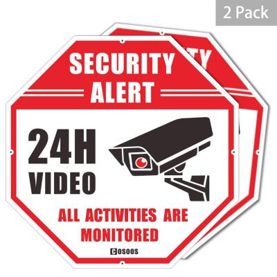 Letrero de Seguridad de Video