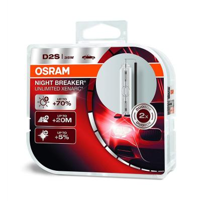 OSRAM 66240XNB-HCB Xenarc Night Breaker Unlimited D2S HID Lámpara de Xenón de Descarga