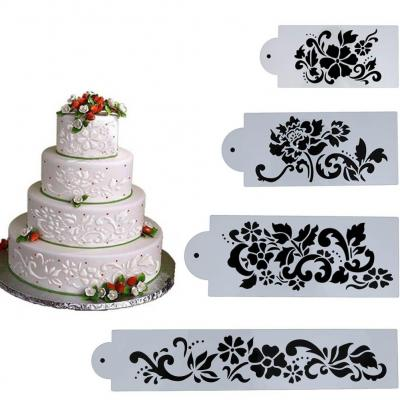 Everpert 4pcs Decoración De Pasteles